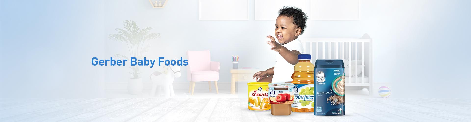 Gerber Baby Foods