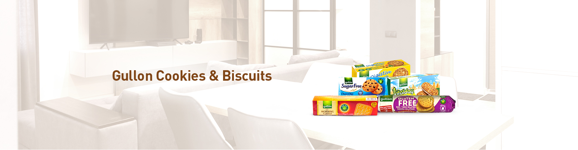 Gullon Cookies and Biscuits