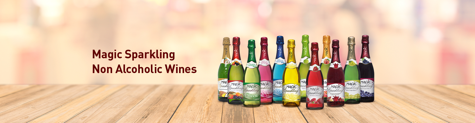 Magic Sparkling Non Alcoholic Wines