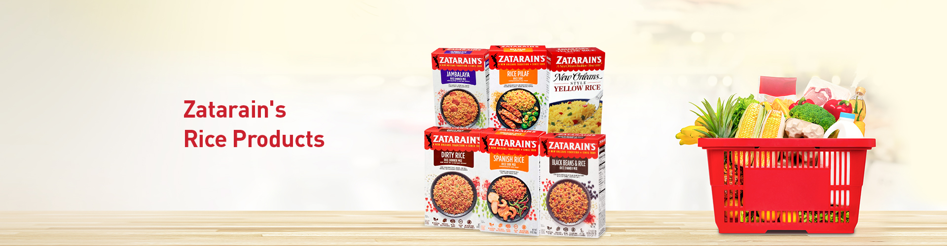 Zatarains Rice Products